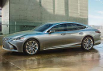 Nuevo Lexus LS 500h Luxury Art Wood