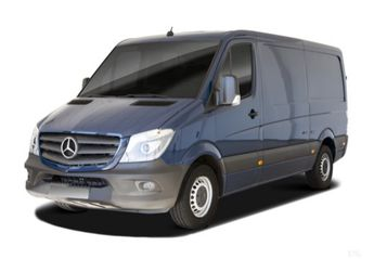 Nuevo Mercedes Benz Sprinter Furgon 319BlueTec Largo T.E.
