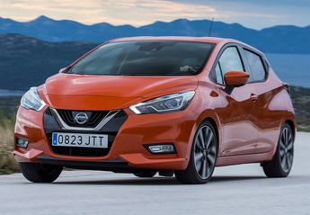 Nuevo Nissan Micra 1.5dCi S&S Red Soul 90