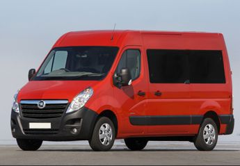 Precios del Opel Movano Combi M1 nuevo en oferta para todos sus motores y acabados