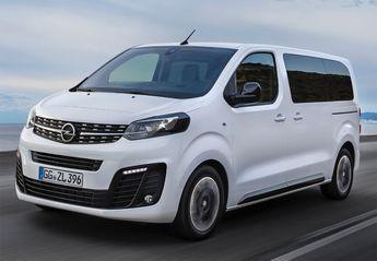 Precios del Opel Zafira Life nuevo en oferta para todos sus motores y acabados