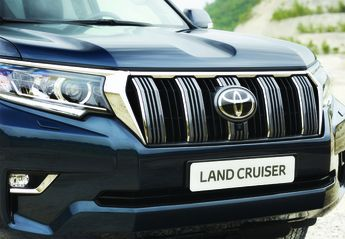 Nuevo Toyota Land Cruiser D-4D VX