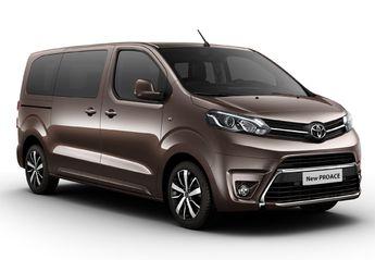 Precios del Toyota Proace Verso nuevo en oferta para todos sus motores y acabados