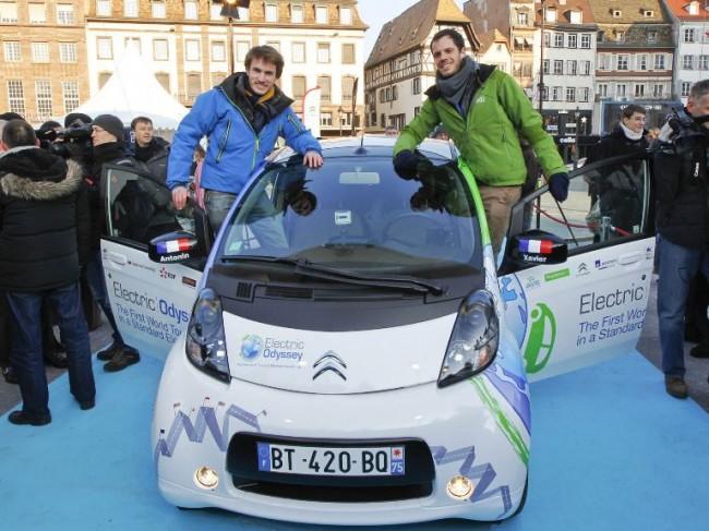 "Comienza la ""Odisea eléctrica"" de Citroën"