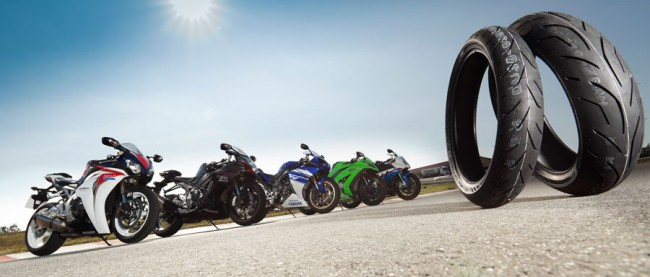 Bridgestone lanza su nueva página web de neumáticos de moto