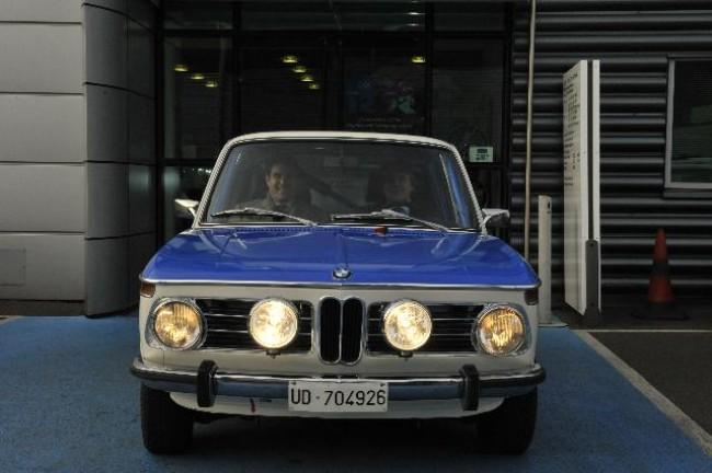 BMW Park Lane Classic, prepara el BMW 1602 que participará en el Rally Británico de Clásicos