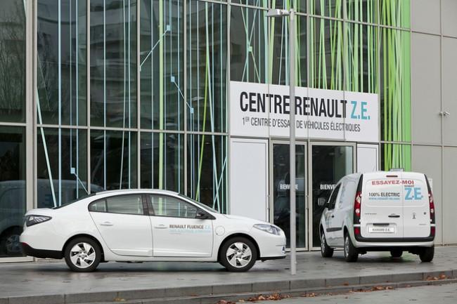 Primer centro de pruebas ZE de Renault