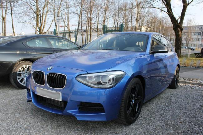 Cazado el nuevo BMW M135i al desnudo