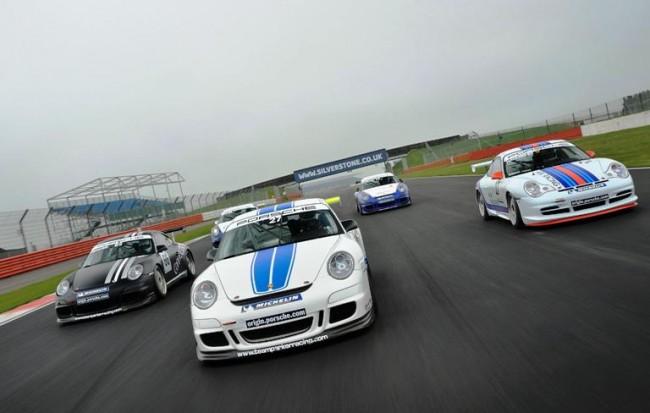 Fin de semana de la Porsche GT3 Cup Challenge en Snetterton