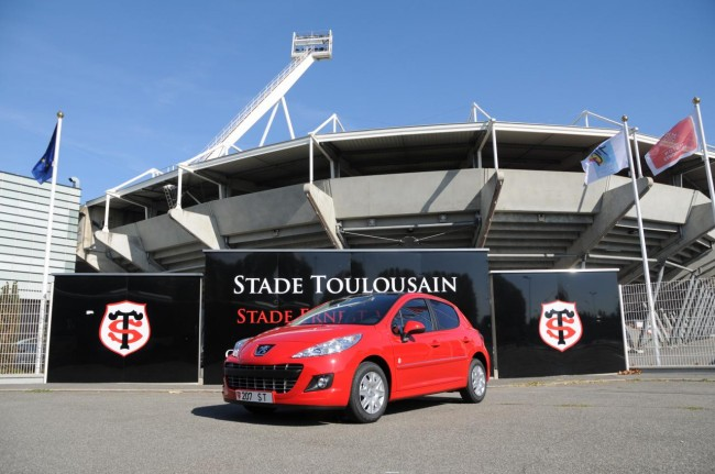 Peugeot 207 Stade Toulousain