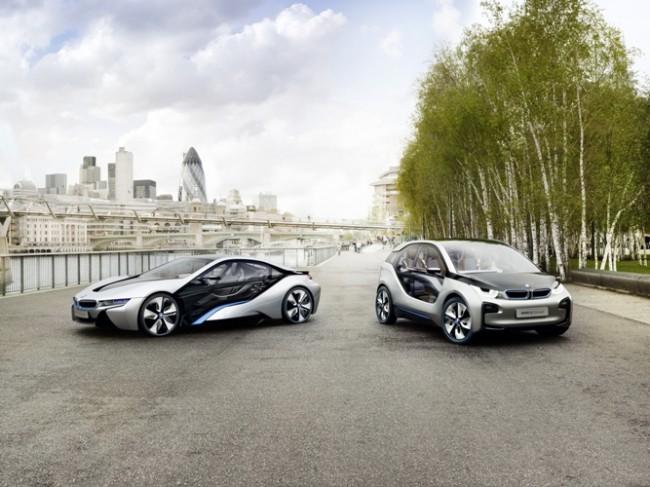 BMW presenta con una gira mundial su alternativa sostenible: los BMW i