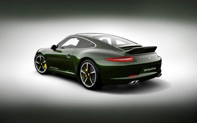 Porsche 911 Club Coupe Limited Edition