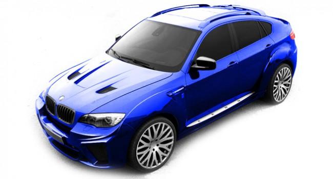 ¿Qué hay por encima del Kit M del BMW X6? Khan Design