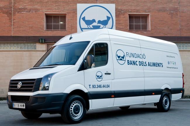 Volkswagen España colabora con la fundación Banc dels Aliments de Barcelona