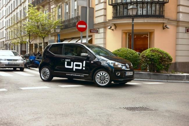 Las rutas más urbanas del Volkswagen Up!