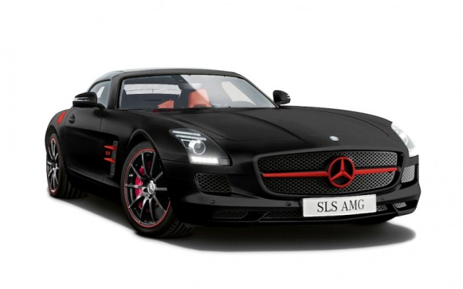 Mercedes ofrecerá una Edición Especial del SLS AMG en Japón