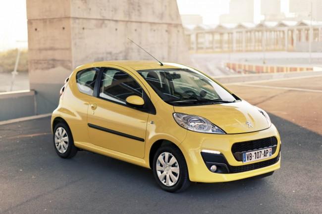 Nuevo Peugeot 107: Un urbano con alicientes