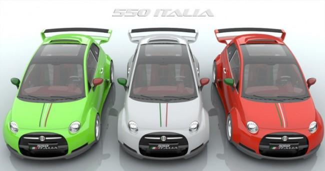 El nuevo Fiat Ferrari 550 Italia de Lazzarini busca inversor