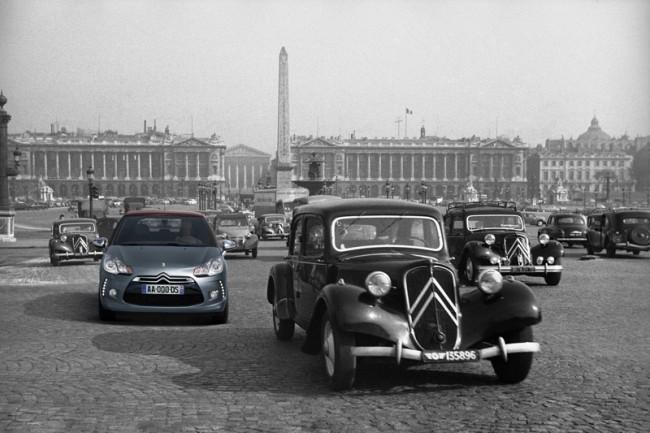 La gran exposición de coches presidenciales de Citroën