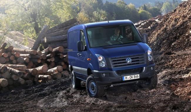 La tracción 4Motion de Volkswagen llega a la gama Crafter