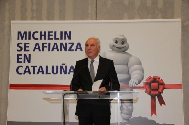 Michelin inaugura un nuevo almacén en Subirats
