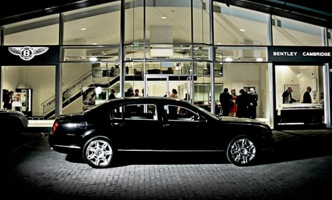 Bentley inaugura nueva exposición en Cambridge