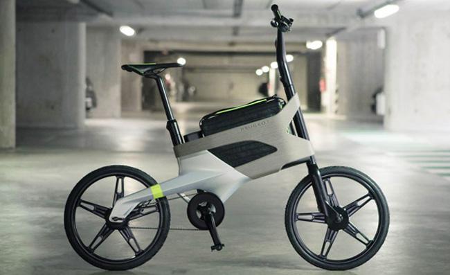 Peugeot: Del coche a la bicicleta, la nueva DL122