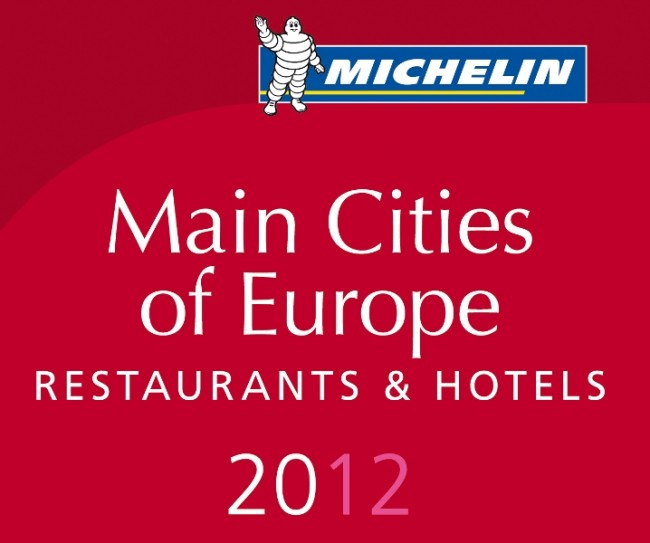 Guía Michelin Main Cities of Europe 2012