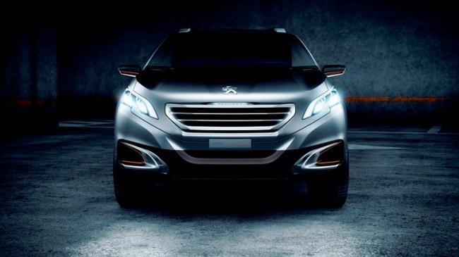 """Peugeot y su nuevo """"Urban Crossover Concept"""""""