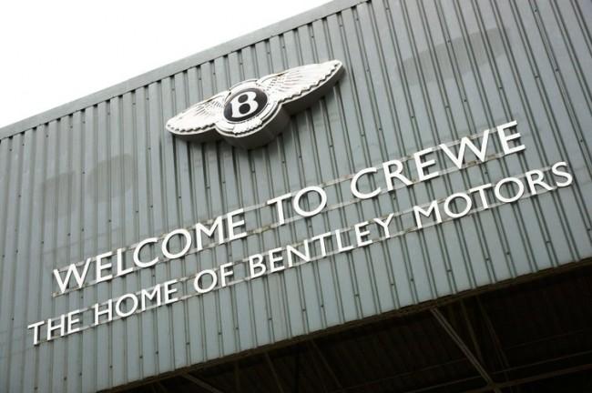 Bentley promete 10.000 £ para celebrar el 175 aniversario de Crewe