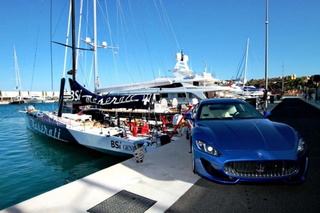 Bienvenidos a la Maserati Sail