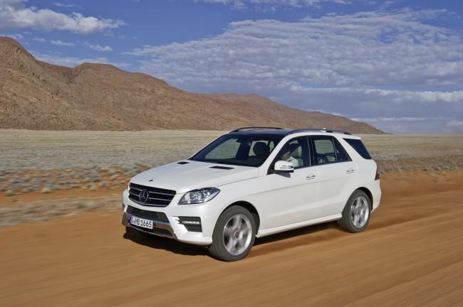 La Clase S de Mercedes y el ML, los más condescendientes con el medio ambiente