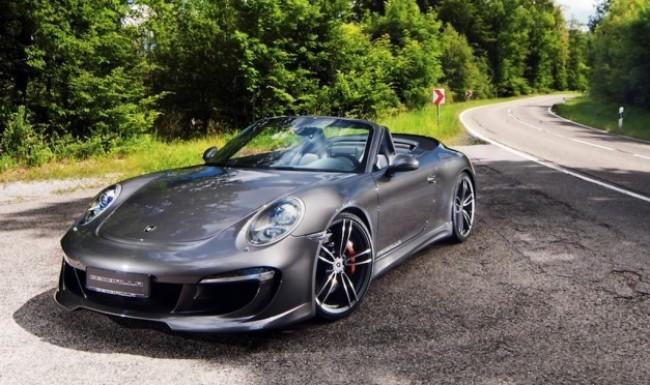Porsche 911 Carrera S Cabrio: La nueva creación de Gemballa