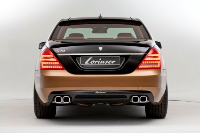 Mercedes S600 y lo que Lorinser entiende por un Clase S