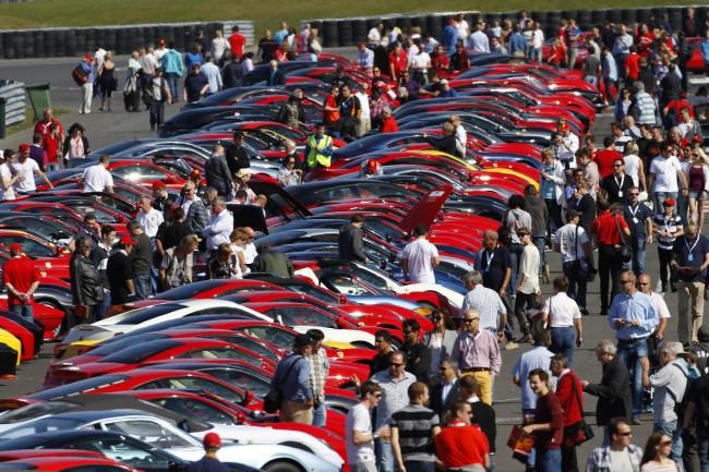El fin de semana de la Ferrari Parade