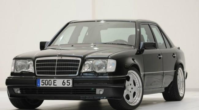 El Brabus Mercedes 500E 6.5 W124