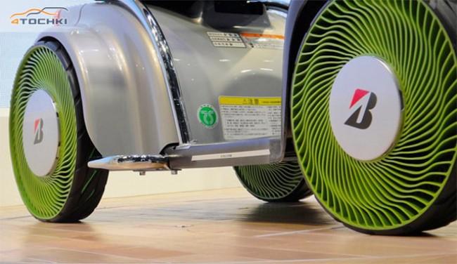 """Bridgestone desarrolla el primer neumático sin aire """"Non-Pneumatic"""""""
