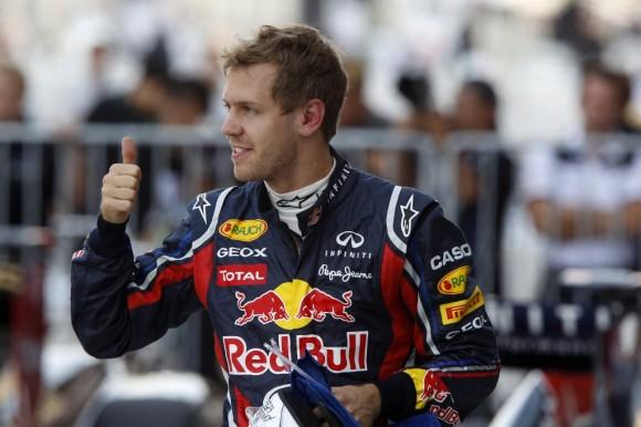 Vettel gana el Mundial en la carrera más igualada del año