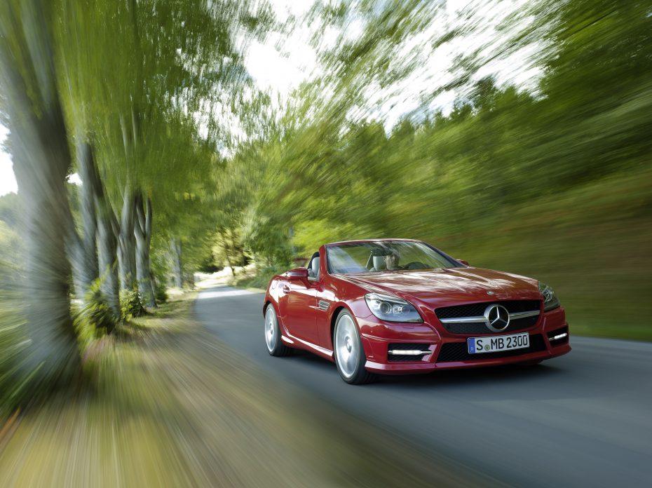 Mercedes-Benz SLK: Nuevo motor e información técnica