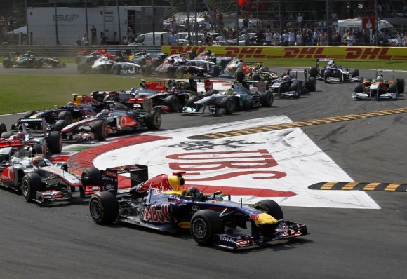Red Bull conquista Monza y finiquita el campeonato