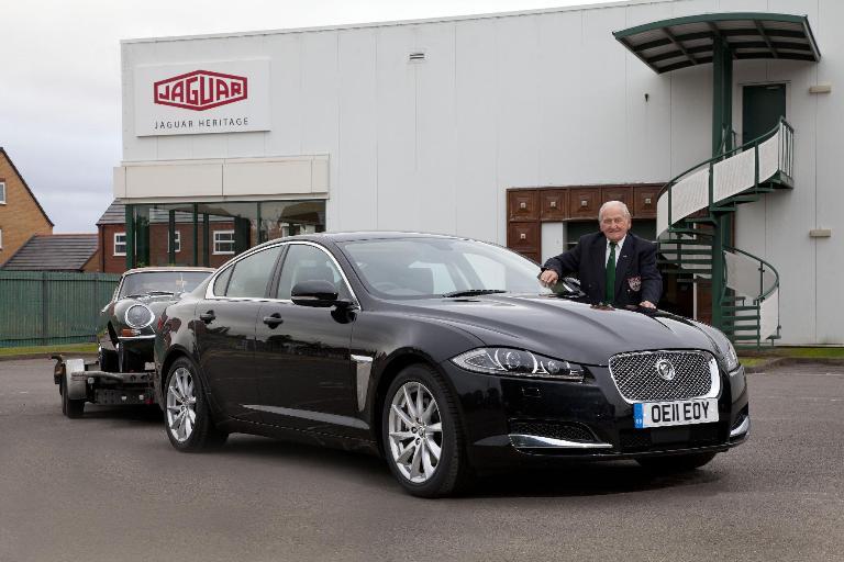 Conmemoración de los 40 años del Jaguar E-Type