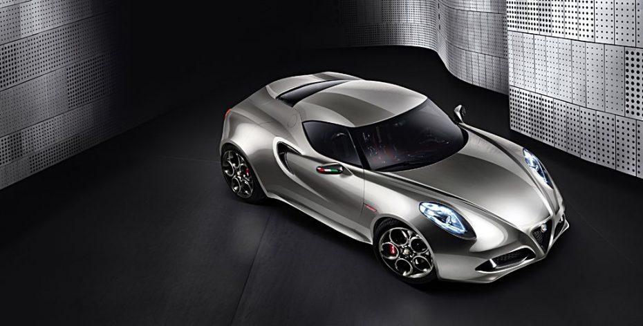 El Alfa Romeo 4C se verá en Frankfurt
