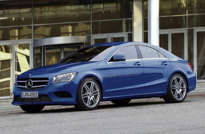 El hermano pequeño del Mercedes-Benz CLS responderá al nombre de CLA