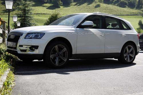 El Audi Q5 S se deja ver por los Alpes