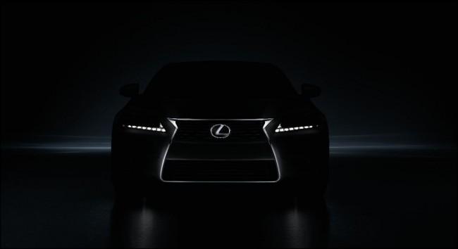 Primera imagen del nuevo Lexus GS 2013