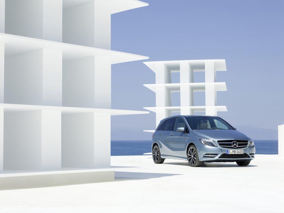 Nuevo Mercedes-Benz Clase B 2012: La imagen definitiva