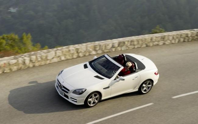 Nuevo Mercedes SLK 250CDI: Deportividad Eficiente