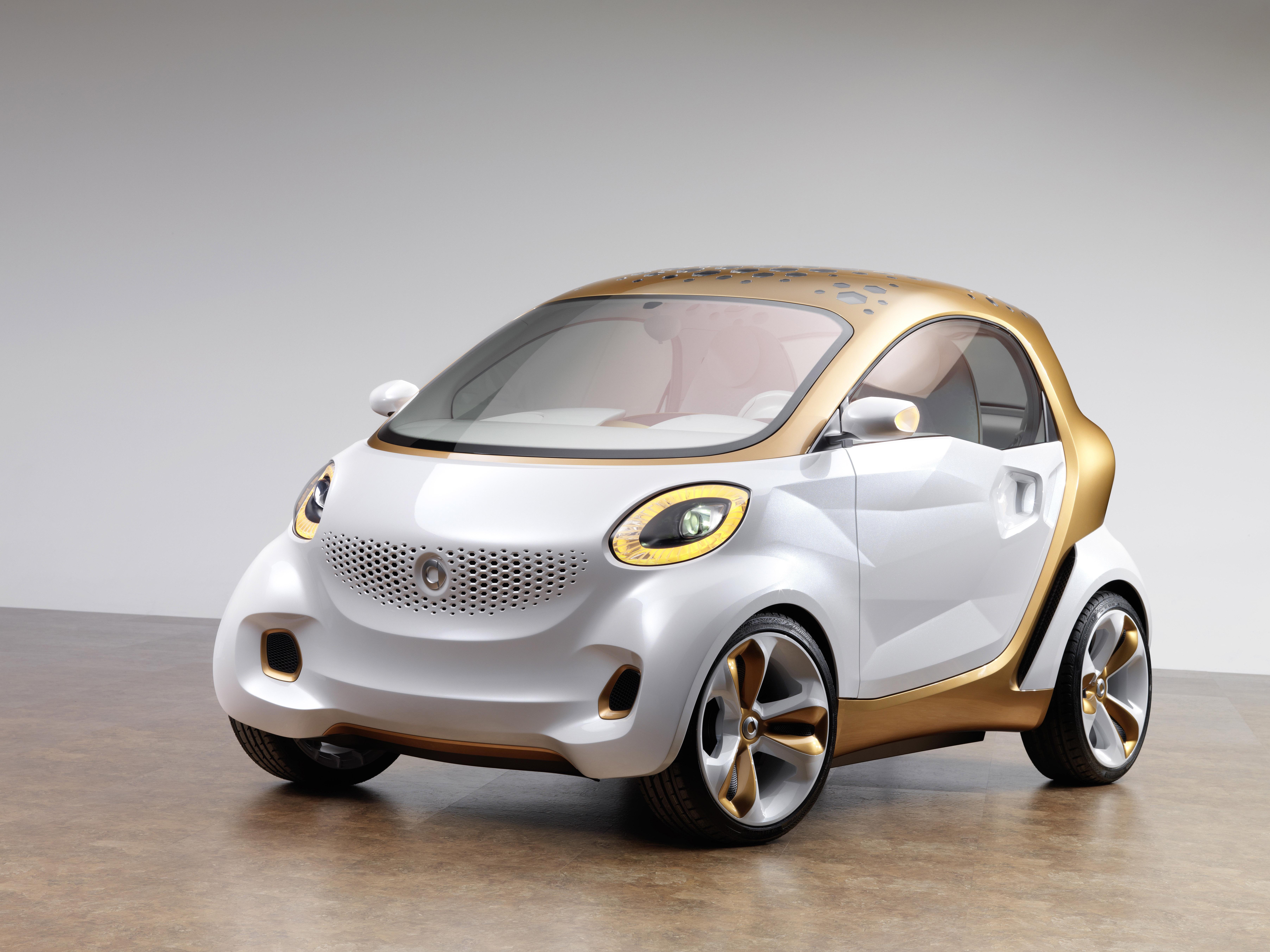 Smart presentará en Frankfurt un nuevo prototipo