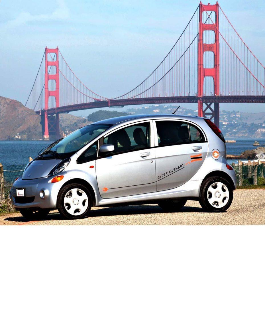 City CarShare amplia su flota con los nuevos Mitsubishi i