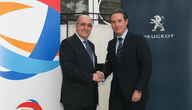 Peugeot y Total renuevan su acuerdo de colaboración